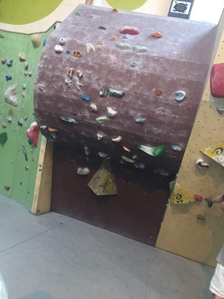 escalade block out la cave