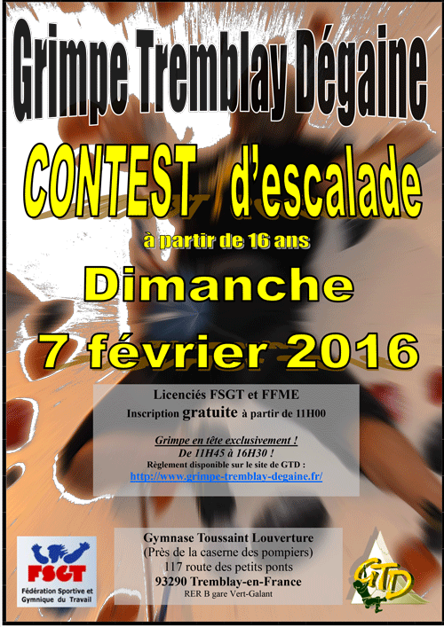 affiche contest tremblay